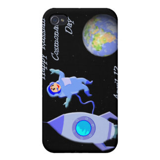 Happy Russian Cosmonaut Day April 12 iPhone 4 Cover
