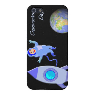Happy Russian Cosmonaut Day April 12 iPhone SE/5/5s Case