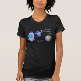 Happy Russian Cosmonaut Day April 12 T-Shirt