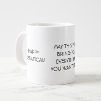 Happy Sabbatical Wish, Jumbo University Mug