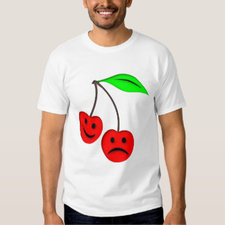 Happy Sad Cherries T Shirt