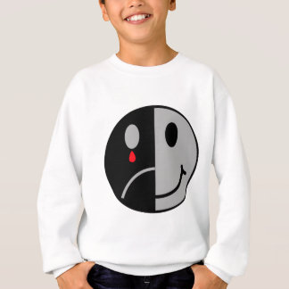 Happy & Sad Face Sweatshirt