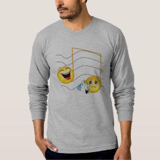 happy sad notes T-Shirt