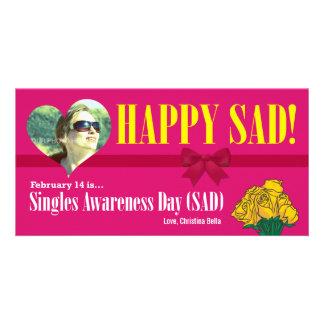 Happy SAD (Single Awareness Day) Anti-Valentines Card
