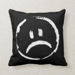 Happy/Sad Two Moods Pillow 2