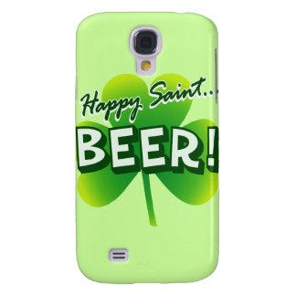 Happy Saint ... BEER! Galaxy S4 Cases