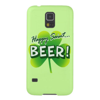 Happy Saint ... BEER! Cases For Galaxy S5