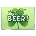 Happy Saint... BEER! Placemat