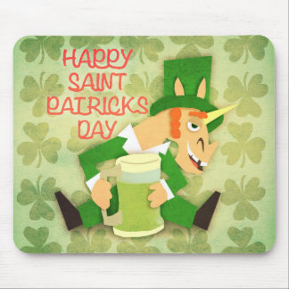 Happy Saint Patrick's Day Mouse Pad