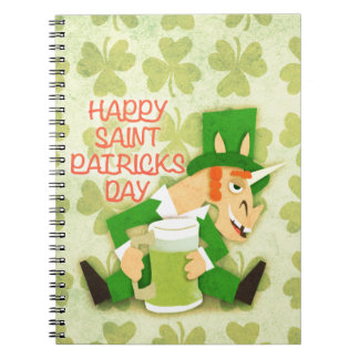 Happy Saint Patrick's Day Notebook