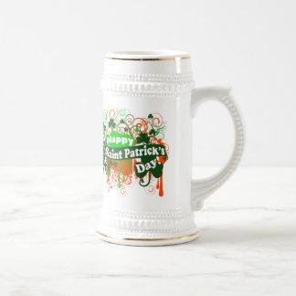 Happy Saint Patricks Day Beer Stein