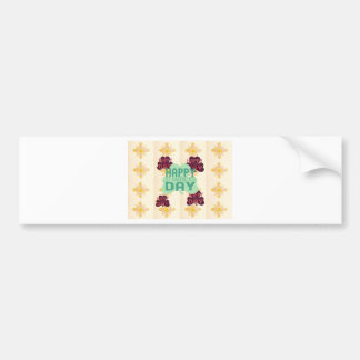 Happy Saint Patrick's Day Bumper Sticker