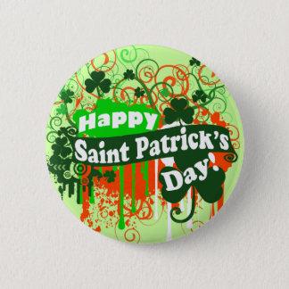 Happy Saint Patricks Day Button