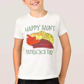 Happy Saint Patrick's Day Corned Beef Cabbage Tee