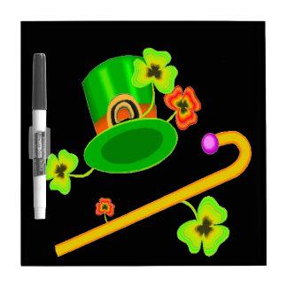Happy Saint Patricks Day Dry Erase Board