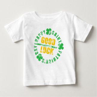 Happy Saint Patricks Day Good Luck Baby T-Shirt