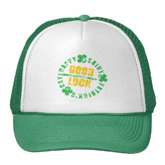 Happy Saint Patricks Day Good Luck Trucker Hat