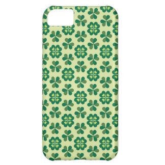 Happy Saint Patrick's Day - Green Shamrock Clover iPhone 5C Covers