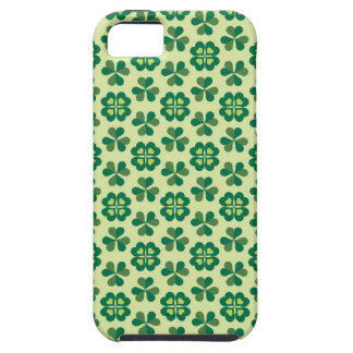 Happy Saint Patrick's Day - Green Shamrock Clover iPhone 5 Covers