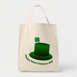 Happy Saint Patricks Day Hat Tote Bag