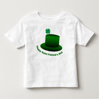 Happy Saint Patricks Day Hat Toddler T-shirt