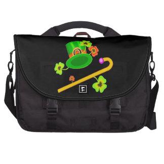 Happy Saint Patricks Day Bags For Laptop