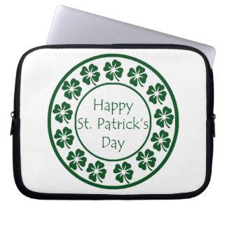 Happy Saint Patricks Day Computer Sleeve