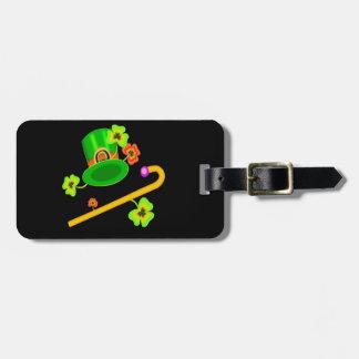 Happy Saint Patricks Day Luggage Tag
