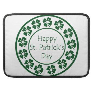 Happy Saint Patricks Day Sleeves For MacBooks