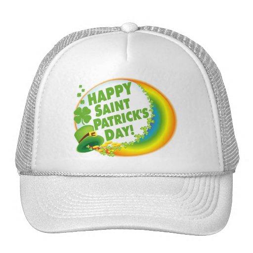 Happy Saint Patrick's Day Mesh Hats