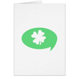 Happy Saint Patricks Day Minimalist Card