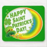 Happy Saint Patrick's Day! Mouse Pad