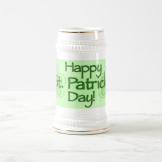 Happy Saint Patrick's Day 18 Oz Beer Stein
