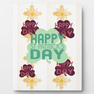 Happy Saint Patrick's Day Plaque