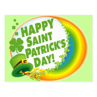 Happy Saint Patrick's Day! Postcard