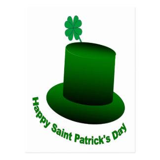 Happy Saint Patricks Day Postcard