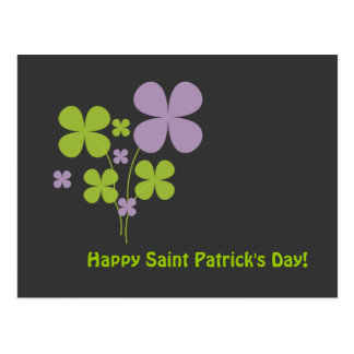 Happy Saint Patrick's Day Postcard