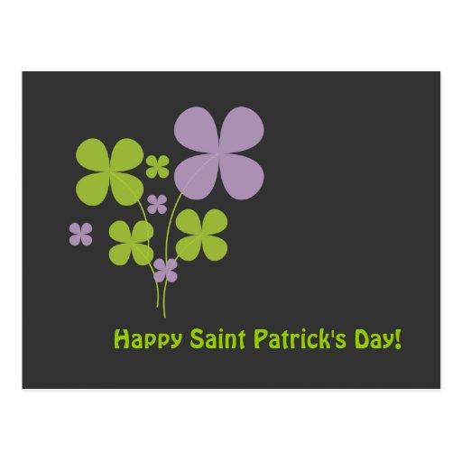 Happy Saint Patrick's Day Postcard