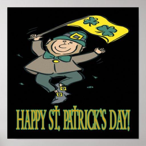 Happy Saint Patricks Day Poster