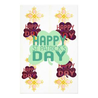 Happy Saint Patrick's Day Stationery
