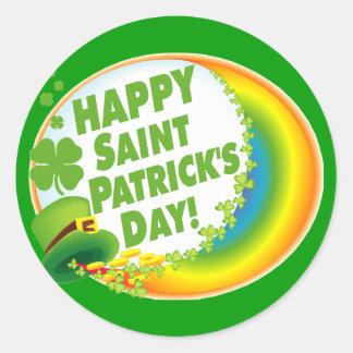 Happy Saint Patrick's Day! Stickers