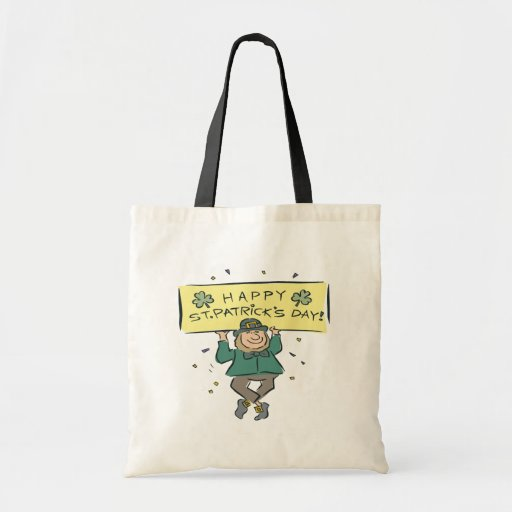 Happy Saint Patricks Day Tote Bag
