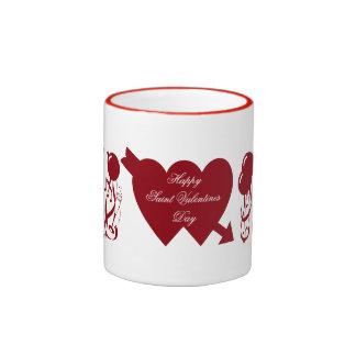 HAPPY SAINT VALENTINES DAY mug