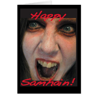 Happy Samhain! Card