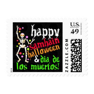 Happy Samhain, Halloween & Dia de los Muertos! Stamps