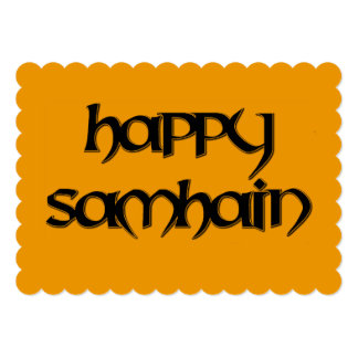 Happy Samhain Invitation to a Wiccan Event