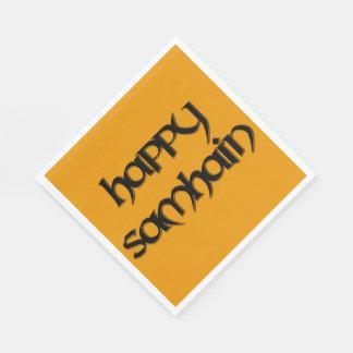Happy Samhain Luncheon Napkins