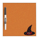 Happy Samhain Witch Hat Stars Magic Wiccan Dry-Erase Boards