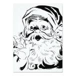 Happy Santa 5x7 Paper Invitation Card