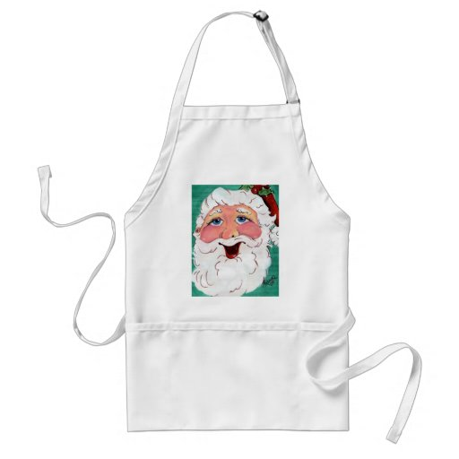 Happy Santa Adult Apron